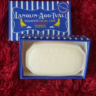 Lanolin Eggwhite Facial Care Soap
