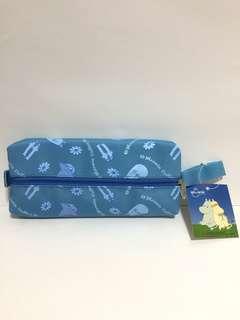 Moomin 姆明家族萬用袋-藍色(Brand new 全新)