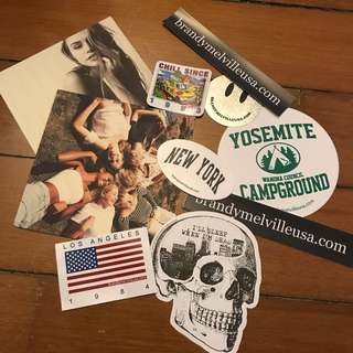 Brandy Melville Postcards + Stickers