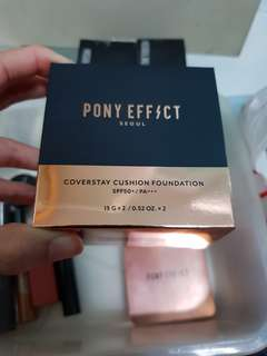 Pony effect coverstay cushion foundation Natural ivory