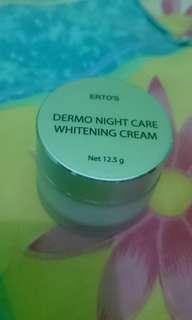 Erto's Dermo Night Care Whitening Cream