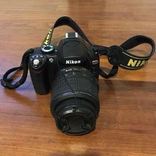 Nikon D60 kit lense 18-55mm