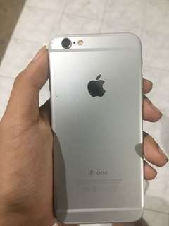 Iphone 6 / 64 GB Silver Mulus