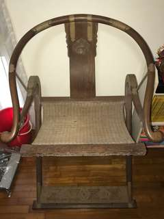 Antique Emperor Hunting Chair