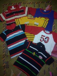 Boys Tops Bundle 2 to 4 yrs old