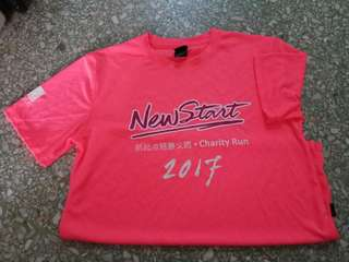 New Start charity RUN shirt