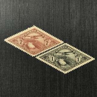 1937 Costa Rica 2c Mint Stamp