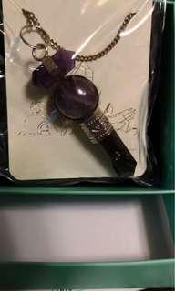極高能量紫水晶靈擺