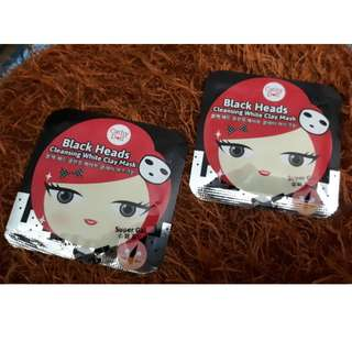 Cathy doll white clay mask