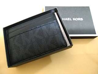 Brand new MK michael kors card holder with money clip