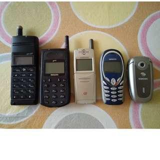 Vintage 1990s Mobile Phones