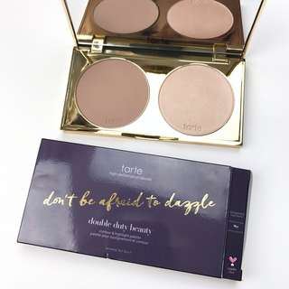 Tarte Don't Be Afraid To Dazzle Contour and Highlight Palette