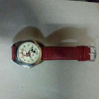 Authentic Red Mickey Mouse Watch