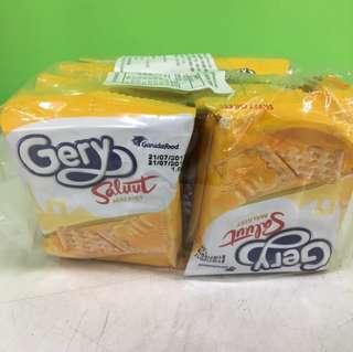 🚚 (現貨)印尼Gery Saluut厚醬起司蘇打餅乾(一袋20包*2片共40片)