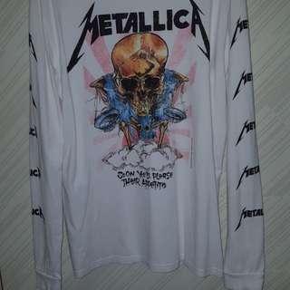 H&M x Metallica Longsleeve Tshirt