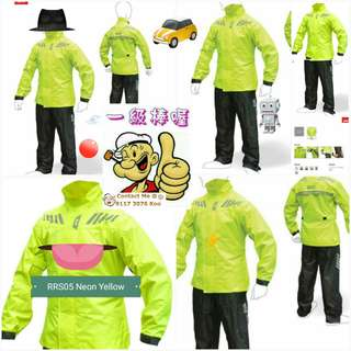0206*** Givi Raincoat RRS05 Neon Yellow 🤣🤣Thanks To All My Buyer Support 👌👌