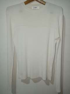 kaos long sleeve pierrox size m
