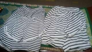 Couple short and shirt