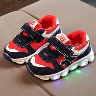 AB Blue Red LED Shoes