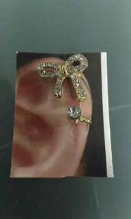 Clip on ear cuff