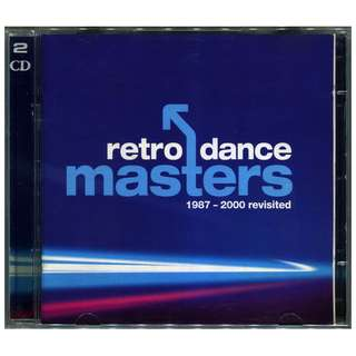2002 Retro Dance Masters: 1987-2000 Revisited 2 x CD House, Trance, OOP