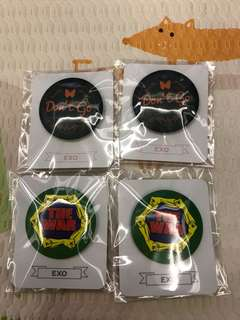 Exo official badges