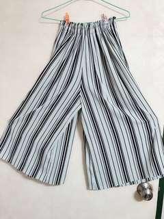 🚚 煙管大地褲+ 灰色條紋上衣 🔥