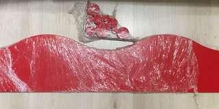 IIKEA 絶版紅色層板(附件螺絲)