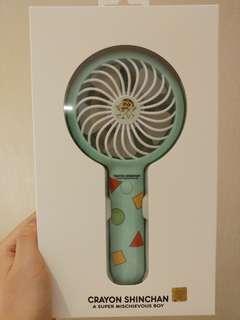 韓國蠟筆小新手提風扇