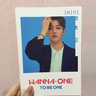 Wanna One Official Postcard