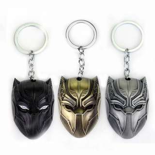 Black panther marvel keychain