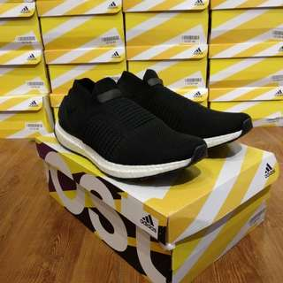 Adidas Ultraboost Laceless Black White UA Original BASF Boost
