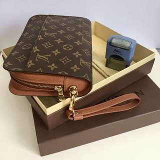 Authentic LOUIS VUITTON Orsay Clutch Bag