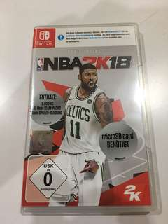Nintendo Switch NBA2K18 EU Edition