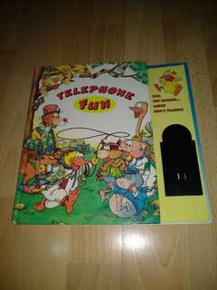 Hardcover Telephone Fun by Diane Mineau for clearance sale