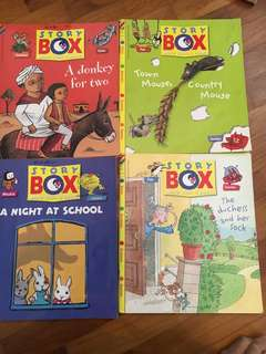 Storybox of 5 books
