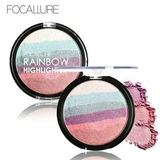 [NEW] FOCALLURE Pro DIY Rainbow Highlighter Powder