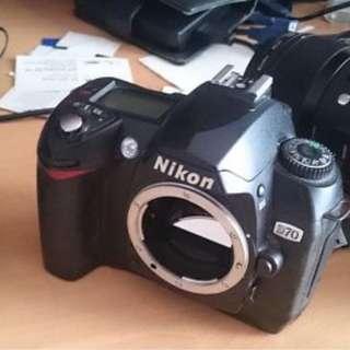 Nikon D70 最有菲林味既N記單反之一 (CCD)