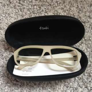 Ksubi White Glasses Frame bought From Lane Crawford 潮牌Ksubi 白色眼鏡框