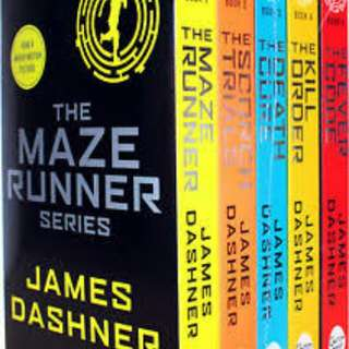 TRILOGY SET MAZE RUNNER