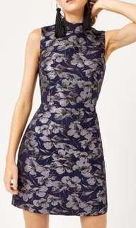 WAREHOUSE Jacquard Shift Dress