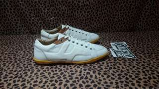 Hermes Lace Up Leather White Sneaker Branded Second Import