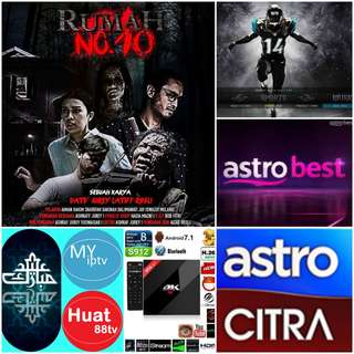 Android TV Myiptv Huat88