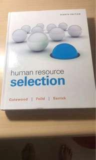 🚚 人力資源管理 Human Resource Selection