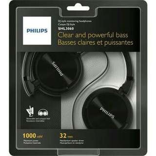Philips SHL 3060 Headphones (DJ Style)