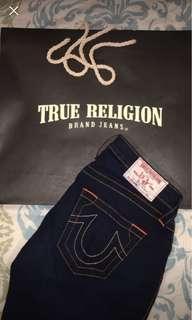 Dark blue True Religion Skinny jeans: 28in