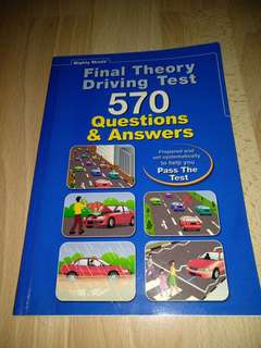 Final Theory Driving Test 570 Questions & Answers