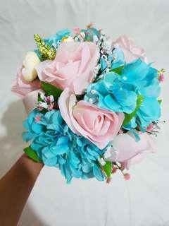 Turun harga! Buket bunga artificial untuk foto prewedding atau wedding