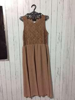 Brown Maxi Dress
