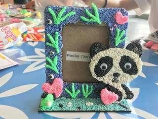DIY Foam Clay (Panda n Dinasaur)